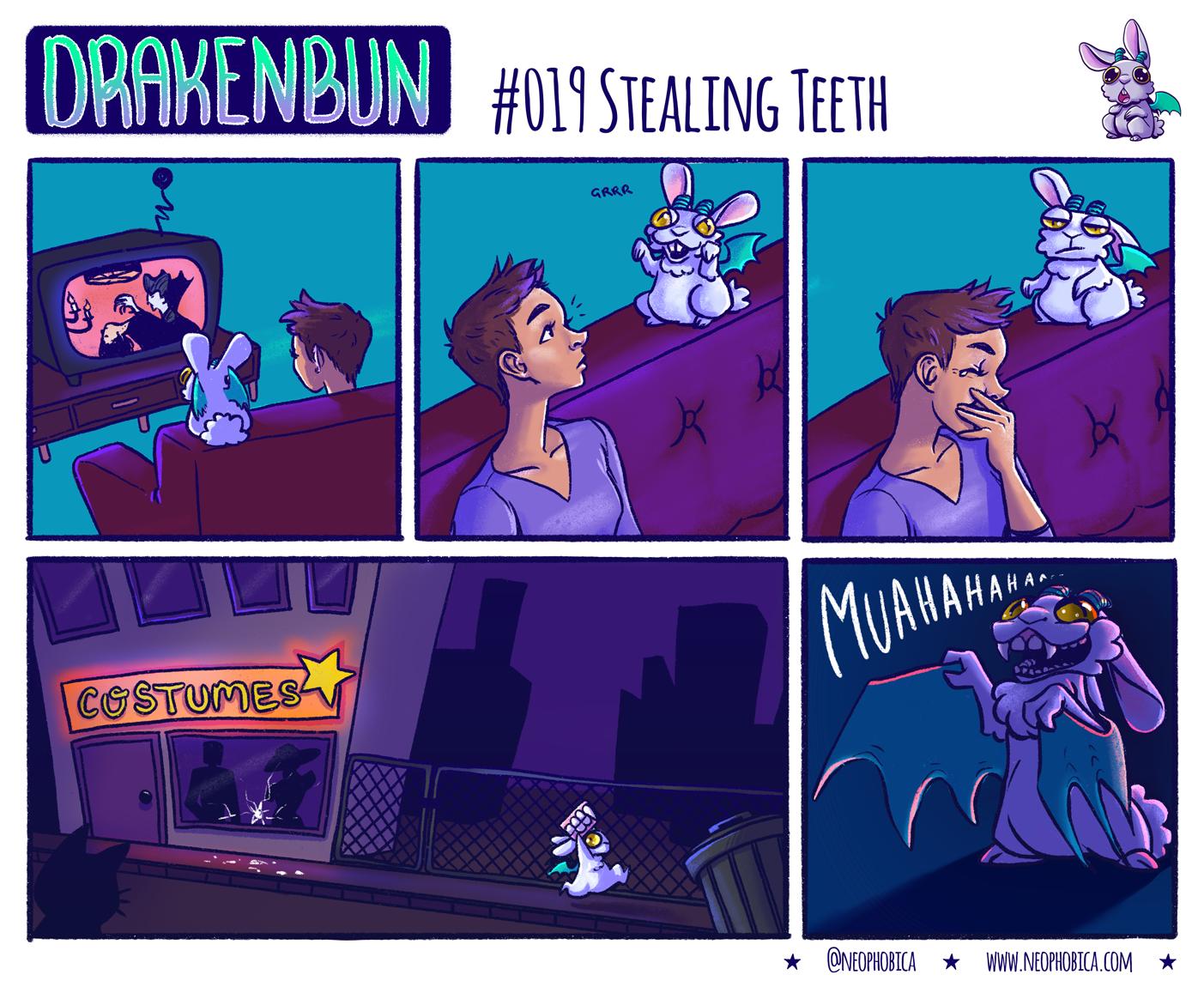 #019 Stealing Teeth