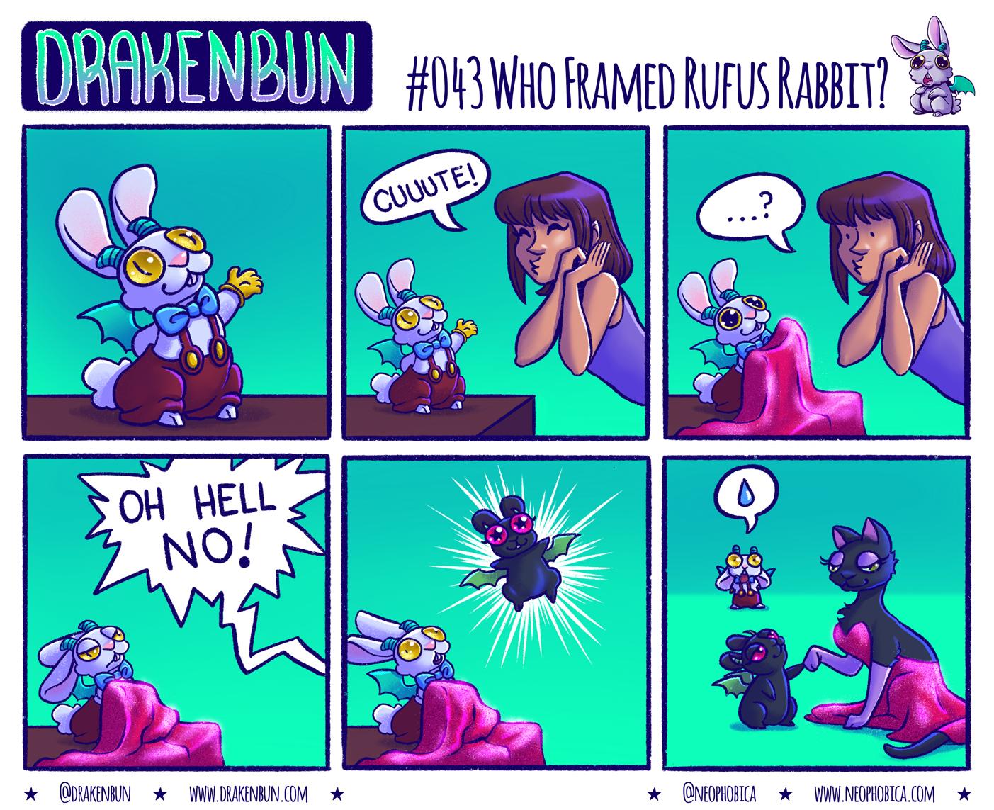 #043 Who Framed Rufus Rabbit?