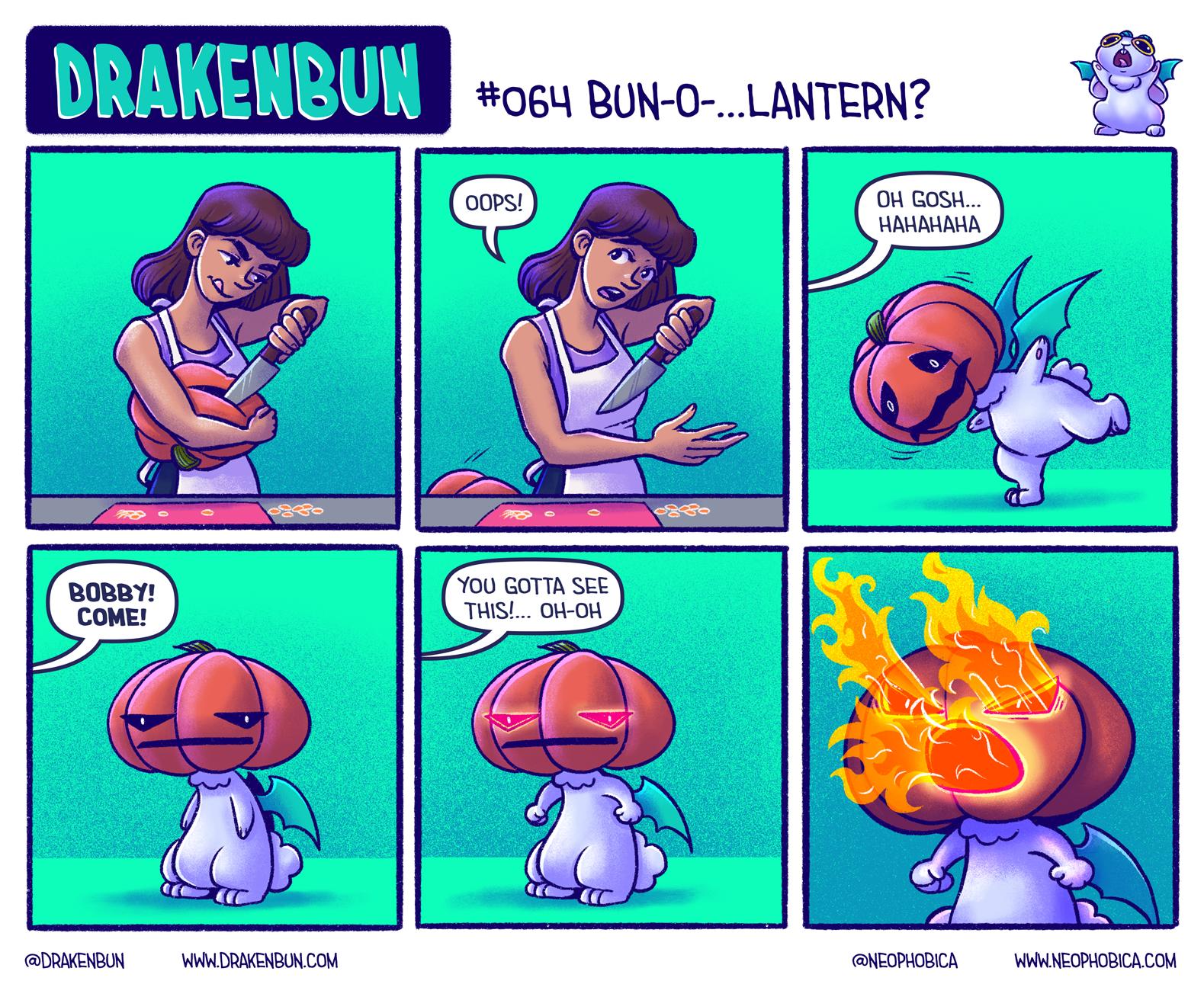 #064 Bun-O-…Lantern?