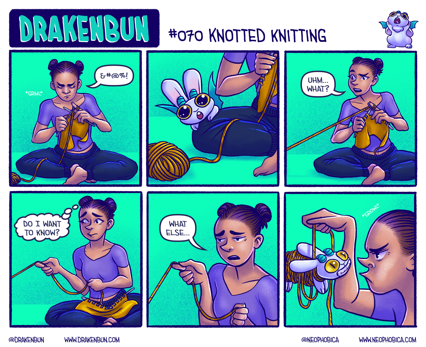 #070 Knotted Knitting