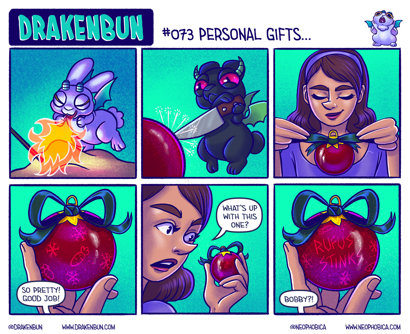 #073 Personal Gifts…